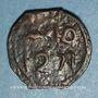 Monnaies Maghreb. 'Alawites. Moulay 'Abd ar-Rahman (1238-1276H).  Fals 1271H. Fes