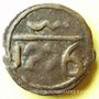 Monnaies Maghreb. 'Alawites. Moulay 'Abd ar-Rahman (1238-1276H). Fals 1276H