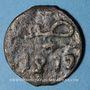 Monnaies Maghreb. 'Alawites. Muhammad IV (1276-1290H). 2 fals  1277H, Tetwan ?
