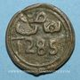 Monnaies Maghreb. 'Alawites. Muhammad IV (1276-1290H).  4 fulus 1285H. Fes