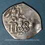 Monnaies  Maghreb. 'Alawites. Sidi Muhammad III (1171-1204H). Dirham 1188H