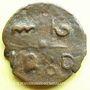 Monnaies Maghreb. 'Alawites. Sidi Muhammad IV (1276-1290). 2 fals 1280H, Fas