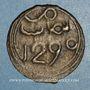 Monnaies Maghreb. 'Alawites. Sidi Muhammad IV (1276-1290). 4 fals 1290H, Fes