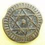 Monnaies Maghreb. 'Alawites. Sidi Muhammad IV (1276-1290H). 4 fals 1288H, Fas