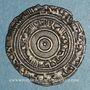 Monnaies Maghreb. Fatimides. al-'Aziz (365-386H). 1/2 dirham 370H. al-Mahdiya