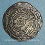 Monnaies Maghreb. Fatimides. al-Mu'izz (341-365H). 1/2 dirham 3xxH. al-Mahdiya