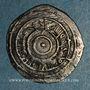 Monnaies Maghreb. Fatimides. Ep. al-'Aziz ? (365-386H).  Imitation d'un 1/2 dirham