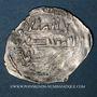 Monnaies Maghreb. Idrissides. Ibrahim b. al-Qasim (vers 270-290H). 1/2 dirham (?), (al-Basra) (Maroc)
