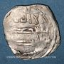 Monnaies Maghreb. Idrissides. Ibrahim b. al-Qasim (vers 270-290H). Dirham 280 H, al-Basra (Maroc)