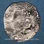 Monnaies Maghreb. Idrissides. Ibrahim b. al-Qasim (?) (vers 270-290H). Dirham, al-Basra (Maroc)