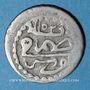 Monnaies Maghreb. Ottomans. Mahmoud I (1143-1168H). Kharub 1152H, Tunis