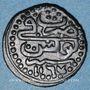 Monnaies Maghreb. Ottomans. Mahmoud I (1143-1168H). Kharub 116(7)H, Tunis