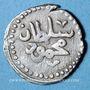 Monnaies Maghreb. Ottomans. Mahmoud I (1143-1168H). Kharub 1166H, Tunis