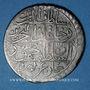 Monnaies Maghreb. Ottomans. Mahmud II (1223-55H). Kurush 1249H, Tunis