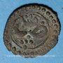 Monnaies Maghreb. Ottomans. Mustafa III (1171-1187H). Burbe bronze 1171H, Tunis