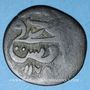 Monnaies Maghreb. Ottomans. Mustafa III (1171-1187H). Burbe bronze 1175H, Tunis
