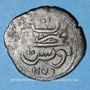 Monnaies Maghreb. Ottomans. Mustafa III (1171-1187H). Burbe bronze 1176H, Tunis
