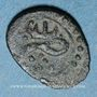 Monnaies Maghreb. Ottomans. Mustafa III (1171-1187H). Burbe bronze 11XX, Tunis