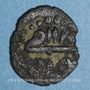 Monnaies Maghreb. Ottomans. Mustafa III (1171-1187H). Hafsi 118XH. Tunis