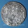 Monnaies Maghreb. Umayyades d'Espagne. Hisham II (1er règne, 366-399H). Dirham 379H, Fès