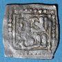 Monnaies Maghreb. Wattassides. Muhammad I (876-910H). 1/4 de dirham d'un type inédit (?)
