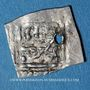 Monnaies Maghreb. Wattassides. Nasir ed-Din (952-956H). 1/8 de dirham, dénomination et type inédits !