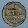 Monnaies Palestine. Umayyades, vers 115-125H. Fals anonyme à l'oiseau