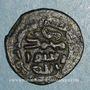 Monnaies Palestine. Umayyades, vers 80H. Fals anonyme, Tabariya