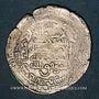 Monnaies Perse. Abbassides. al-Mu'tamid (256-279H). Dirham. al-Ahwaz, avec al-Muwaffaq  et Ahmad