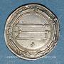 Monnaies Perse. Abbassides. Harun al-Rashid (170-193H). Dirham 191H. al-Muhammadiya