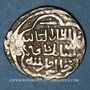 Monnaies Perse. Ilkhanides. Sati Bek, reine (739H). 2 dirham (739H), contremarqué