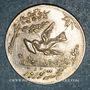 Monnaies Perse. Pahlavis. Anonyme.  Sekkeh. Jeton argent pour Nowruz 1330SH