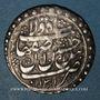 Monnaies Perse. Safavides. Husayn (1105-1135H). Abbasi 1131H, Isfahan