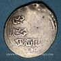 Monnaies Perse. Timurides. Timur et Mahmoud Jaghatay (vers 792-803H). Tanka 799H, Tabriz