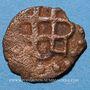 Monnaies Russie. Horde d'Or. Monnayage anonyme (680-690H). Fals, Bulghar