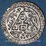 Monnaies Russie. Horde d'Or. Toda Mangu (679-686H = 1280-1287). Yarmak n. d. Qrim (Crimée)