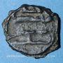 Monnaies Syrie. Abbassides. Muhammad b. Malik (c. 130-160H). Fals n. d. Irqa (Liban). Extrêmement rare !