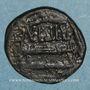 Monnaies Syrie. Abbassides, vers 180H. Fals au nom de 'Amrw b. 'Isa, Hims