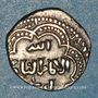 Monnaies Syrie. Ayyoubides. al-'Adil (592-615H).  1/2 dirham , (Damas)
