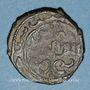 Monnaies Syrie. Ayyoubides. al-'Aziz 'Uthman (589-595H). Bronze, fals  (59)5H, Damas