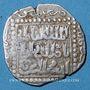 Monnaies Syrie. Ayyoubides. al-Kamil (615-635H). Dirham (63)2H, Damas