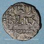 Monnaies Syrie. Ayyoubides. al-Salih Ayyub (637-647H). Bronze, fals  (641)H, (Hamah)