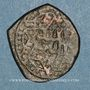 Monnaies Syrie. Ayyoubides d'Alep. al-Nasir Yusuf II (634-658H). Br. Imitation contemporraine