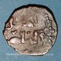 Monnaies Syrie. Ayyoubides d'Alep. al-Nasir Yusuf II (634-658H). Bronze, fals, (Hamah)