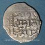 Monnaies Syrie. Ayyoubides d'Alep. al-Nasir Yusuf II (634-658H). Dirham,  (6)4(8)H, (Damas)