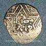 Monnaies Syrie. Ayyoubides d'Alep. al-Zahir (582-613H). Ar. 1/2 dirham (591H ou 593-594H), (Alep)
