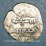Monnaies Syrie. Ayyoubides d'Alep. al-Zahir (582-613H). Ar. Dirham (6)2(6)H, attribué aux croisés