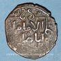 Monnaies Syrie. Ayyoubides d'Alep. al-Zahir (582-613H). Bronze, fals (5)9(8)H, (Alep)