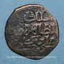 Monnaies Syrie. Ayyoubides d'Alep. al-Zahir (582-613H). Fals bronze (596-600H), (Alep)