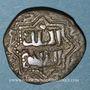 Monnaies Syrie. Ayyoubides d'Alep. al-Zahir Ghazi (582-613H). Bronze, fals  (60)3H, (Alep)